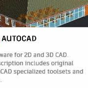 AutoCAD; AutoCAD LT , Revit LT, Inventor LT, Industry Collections