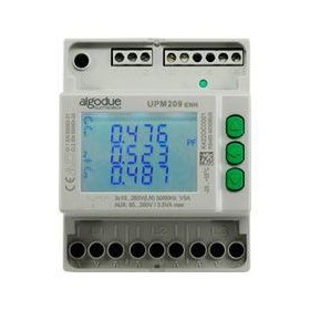 UPM209 | DIN Rail 3 Phase Power Meter