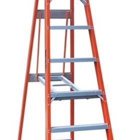 Fibreglass Single Sided Step Ladder | Pro Series