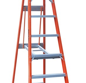 Fibreglass Single Sided Step Ladder | INDALEX Pro Series