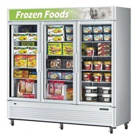 Super Deluxe Single Door Upright Display Freezer | TGF-72SD