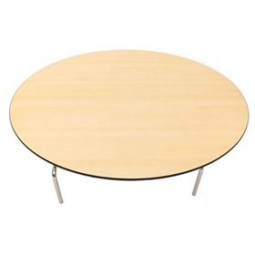 Banquet Table | Round Folding Leg