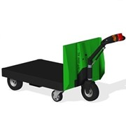 Battery Electric Platform Trolley | Spacepac XL-P400
