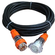 32 Amp 4Pin Heavy Duty Industrial Extension Leads -Electrical Cable