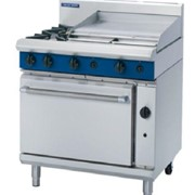 Gas Range Static Oven Blue Seal Evolution Series G506B - 900mm