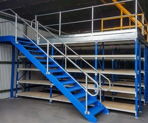 Longspan supported Mezzanine Floor