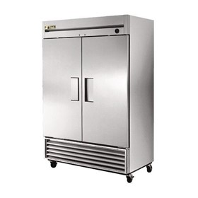 2 Door Stainless Steel Upright Freezer 1388Ltr