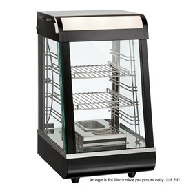 Pie Warmer & Hot Food Display - PW-RT/380/TG