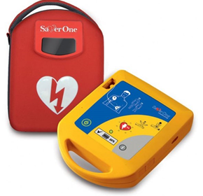 Semi Automatic Defibrillator | Saver One | AMISVOB0001
