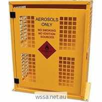 Aerosol Storage Cage – 64 Can