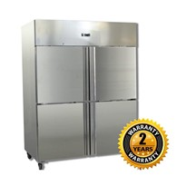 Grand Four 2/1 S/S Door Upright Fridge | GN1410TNM