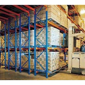 Shelving Solutions | Double Deep Pallet Racking | - Keylock