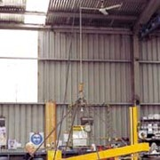 Workstation cranes make safe lifting simple