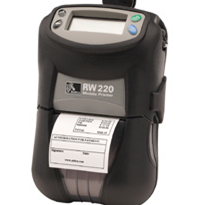 Road Warrior RW220 - Ultra Compact Portable Barcode Label & Receipt Printer