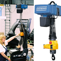 DCM-Pro Electric Chain Hoist: Safe, Fast & Ergonomic Single-Handed Load Handling