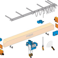Demag Crane Component Sets - using Electric Chain Hoist or Electric Wire Rope Hoist