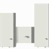 Wall & Roof Mounted Air-Water Heat Exchangers  - Texa BLU/BIT Range