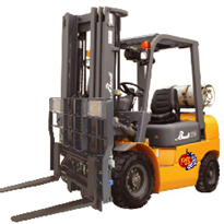 GS1 Fully Integrated RFID Forklift