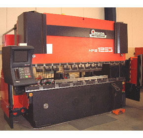 Component Manufacturing - AMADA Press breake