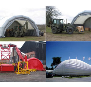 Inflatable Warehouse & Storage Shelter