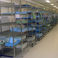 Shelving Solutions | Chrome Wire Shelving | Rapini