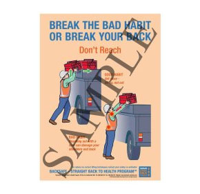 Break the habit or break your back - Don't Reach