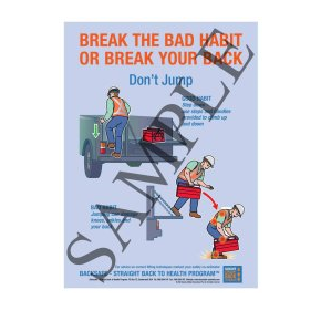 Break the habit or break your back - Don't Jump