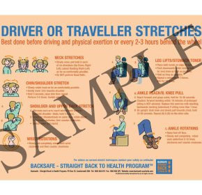Driver or Traveller Stretches (New)