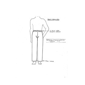 Unisex Pants Uniform