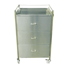 Medication Cart | Stainless Steel Cart