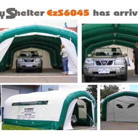 Portable Inflatable Temporary Work/Blast Shelter | Ezy Shelter 6045