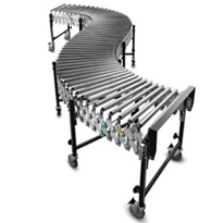 Best/Flex Gravity Steel Roller Conveyor