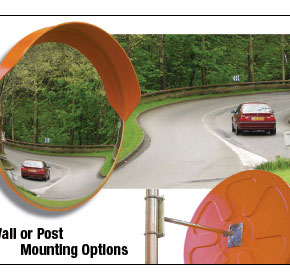 Convex Mirrors Heavy Duty Outdoor Range
