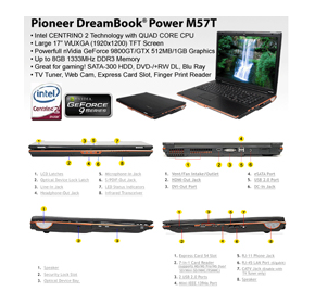 DreamBook Power M57T