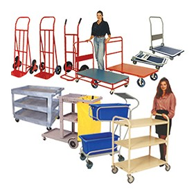 Industrial Trolleys  & Handtrucks | Reflex Equip