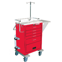 Emergency Cart Cardiac Board | CBB-6