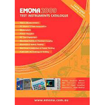 Emona 2009 Test Instruments Catalogue Released