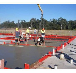 Concrete wall construction