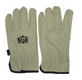 Leather Rigger Gloves - NGR Riggers