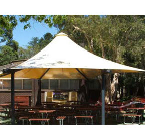 Shade Systems Applications | Outdoor Area | School Shade