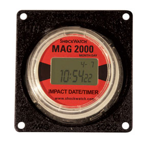 ShockWatch Impact Indicators -  MAG 2000 Impact Date / Timer