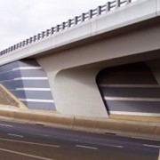 Corio Overpass, freeway entrance at Geelong