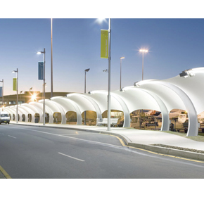 Shade Systems | Fabric Structures | Covered Walkway | Tension Membrane Structure