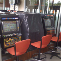 Shade Systems | Fabric Structures | Poker Machines Outdoor Cover