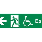 Safety Signs - Exit Signs