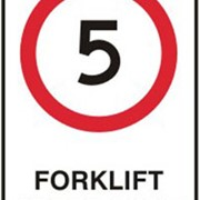 Safety Signs - Forklift Safety