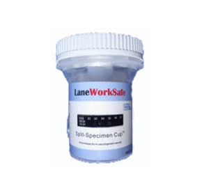 LaneWorkSafe Split-Specimen Urine Drug Screen Cup