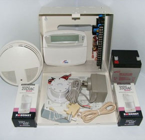 Reliance 8 Security System - 2 Zodiac Quad PIR's & 1 Smoke Detector