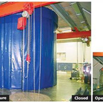 Noise Control Sound Stop® Acoustic Screen from Optimum Handling Solutions