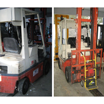 Used Equipment - Nissan Forklift